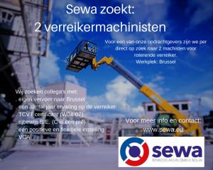 Sewa zoekt- verreikermachinist (1)